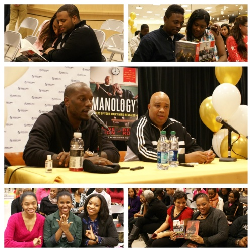 Rev Run & Tyrese Gibson Discuss Manology at Barnes & Nobles at Georgia Tech